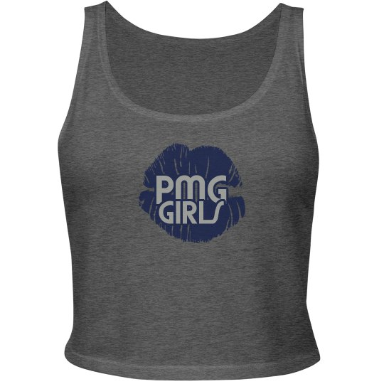 "PMG GIRLS ""ANGELINA WILDFIRE EDITION"" CROP TANK"
