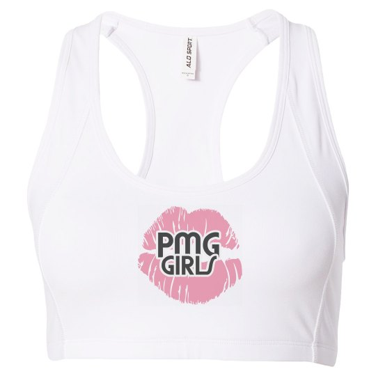 "PMG GIRLS ""COTTON CANDY"" SPORTS BRA"