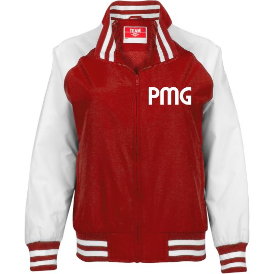 "PMG GIRLS ""CRIMSON PRIDE"" JACKET"