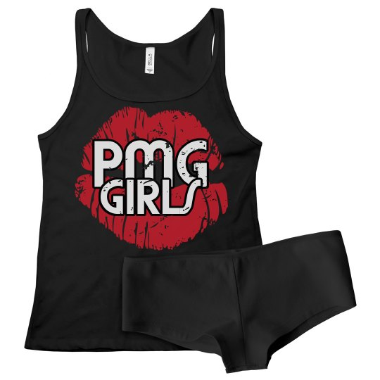 """PMG GIRLS """"DISTRESSED BLACK"""" COMBO PACK"""
