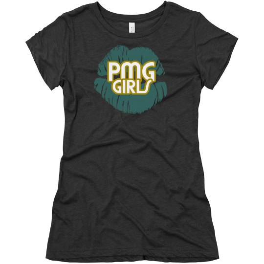 """PMG GIRLS """"DUVAL"""" FITTED TEE"""