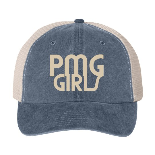 "PMG GIRLS ""GRAPHITE"" SNAPBACK"