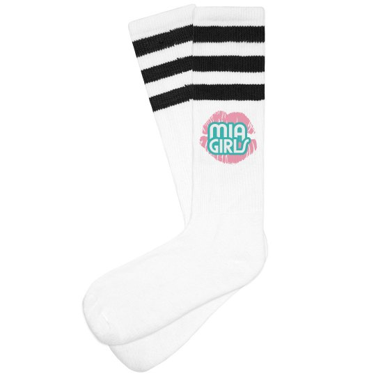 "PMG GIRLS ""MIA"" SOCKS"
