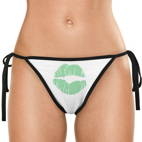 "PMG GIRLS ""MINT GREEN"" BIKINI BOTTOM"