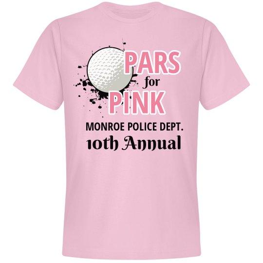 Police Dept Par For Pink