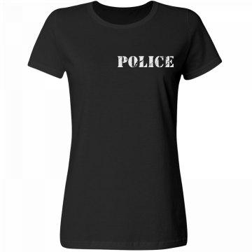 Police Distress w/ Back
