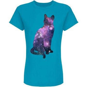 Pondering Galaxy Cat