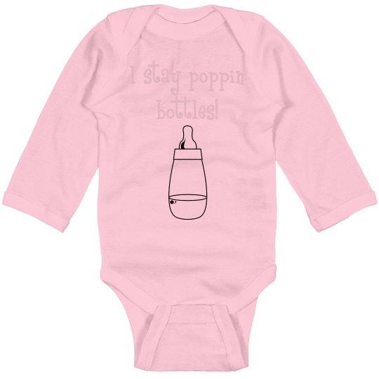 Poppin Bottles Onsie