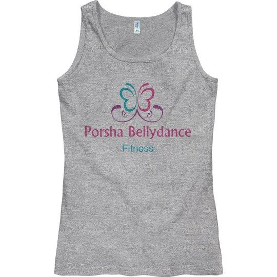 Porsha Bellydance Fitness Top