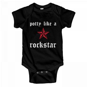 Potty Like A Rockstar