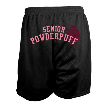 Powderpuff Mesh Shorts