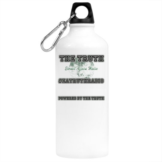 """Powered by Truth"" BPA Free - Aluminum Drinkware"