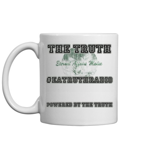 Powered By Truth Smaller Ceramic Coffee Mug