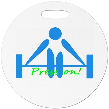 Press on - Luggage Tag