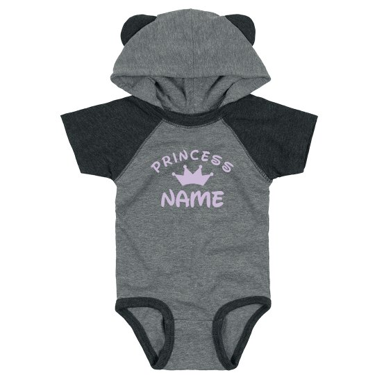 Princess Baby Shower Gift Add Name