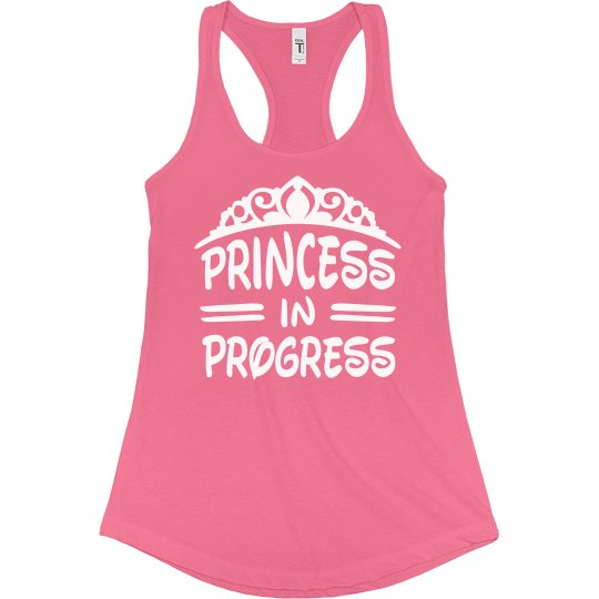 Princess In Progress Workout Tee