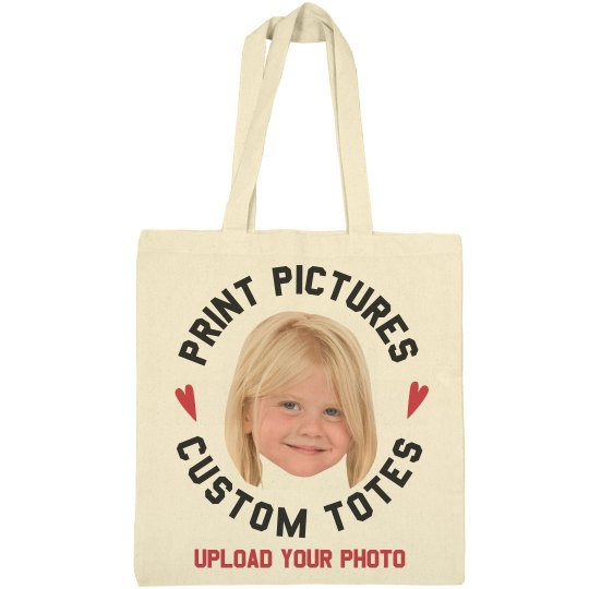 Print Pictures on Custom Tote Bags
