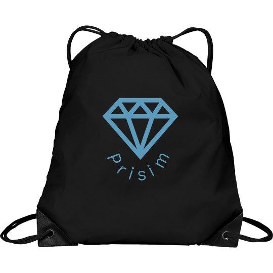 Prisim Draw String Bag