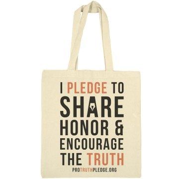 Pro Truth Pledge Tote Bag