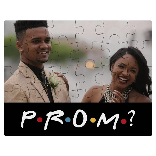 Prom Promposal Invite For Friends