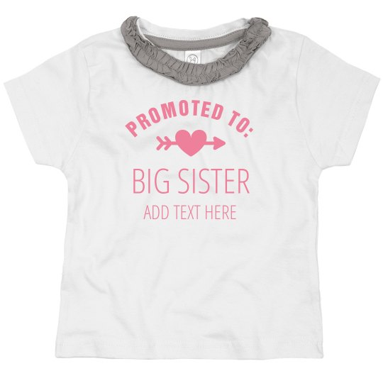 Promoted To Big Sister Custom Name