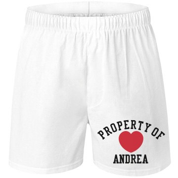 Property of Andrea