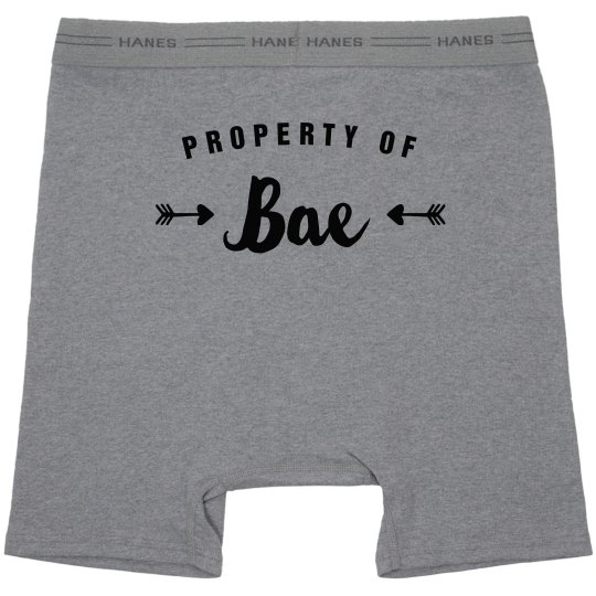 Property Of Bae Simple Boxers