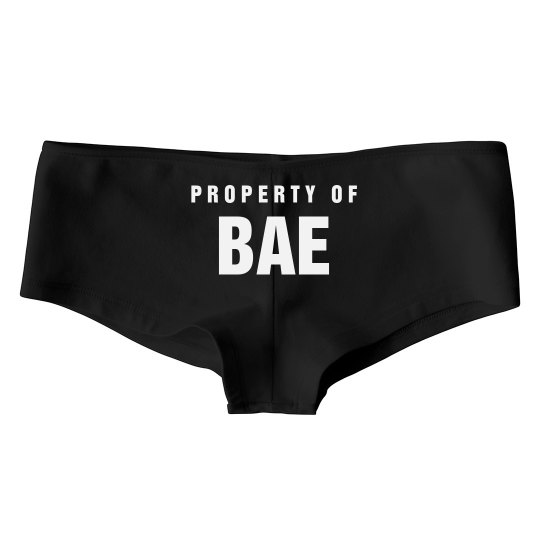 Property Of Bae Valentine Undies
