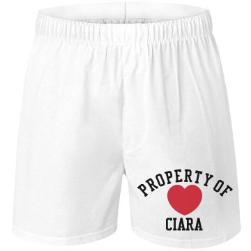 Property of Ciara