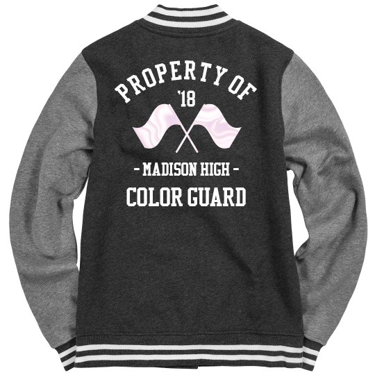 Property of Color Guard Varsity Jacket