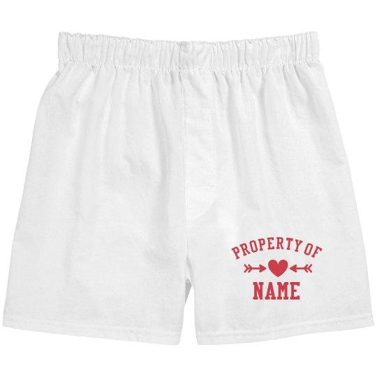 Property Of Custom Boxer Brief