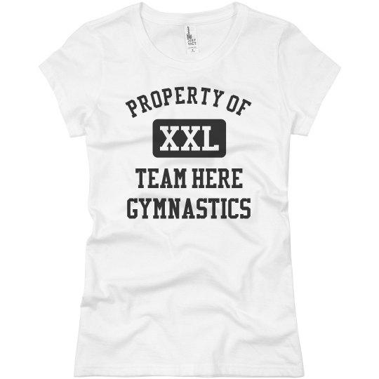 Property of Custom Gymnastics Team