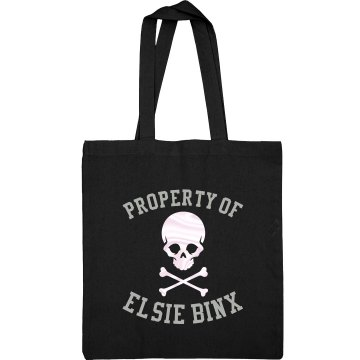 Property of EBX (Jolly Roger) Canvas Tote Bag