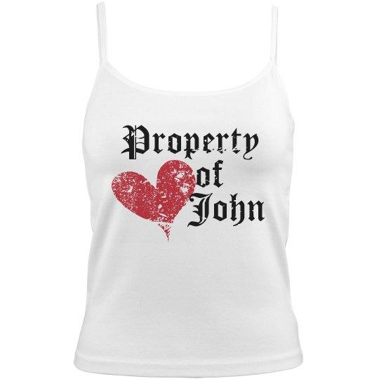 Property Of John Distress