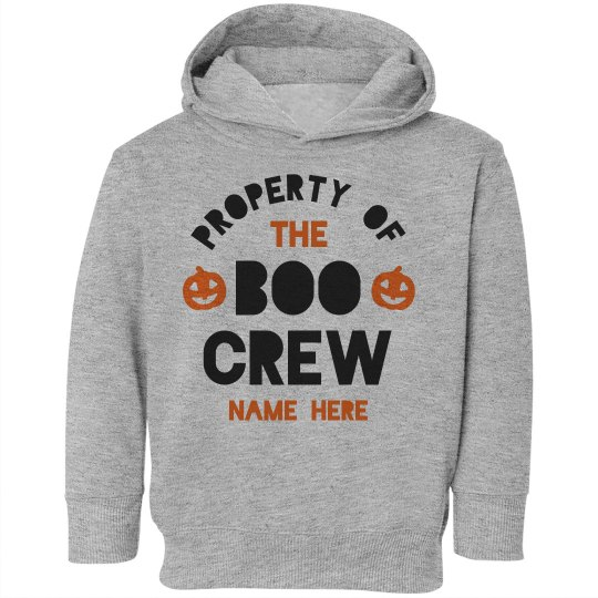Property of the Boo Crew Toddler