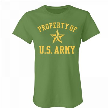 Property Of US Army