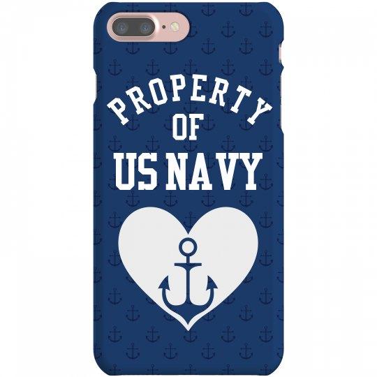 Property of US Navy Case