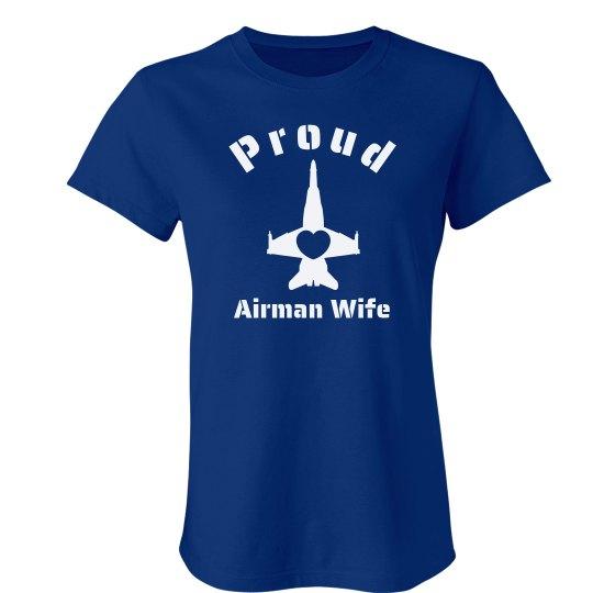 Proud Airman Wife Tee
