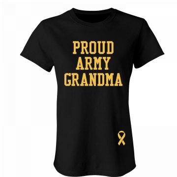 Proud Army Grandma