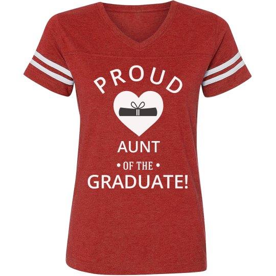 Proud Aunt Of The Graduate