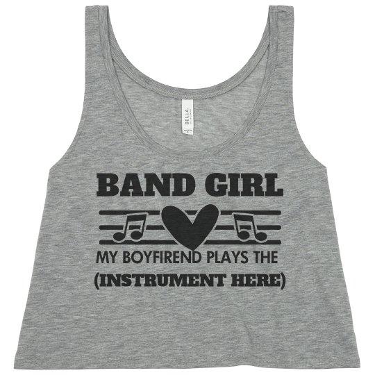 Proud Band Girlfriend Hearts