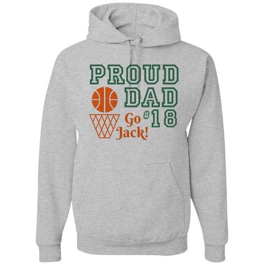 Proud Basketball Dad