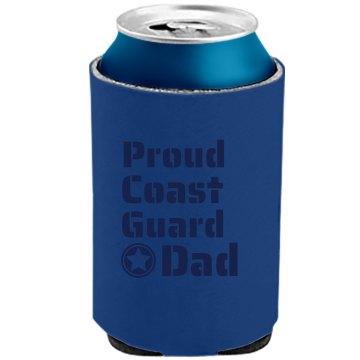 Proud Coast Guard Dad
