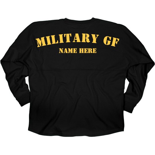 Proud Custom Military Girlfriend