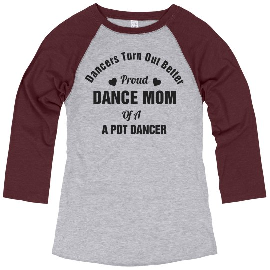 Proud Dance Mom Jersey Shirt