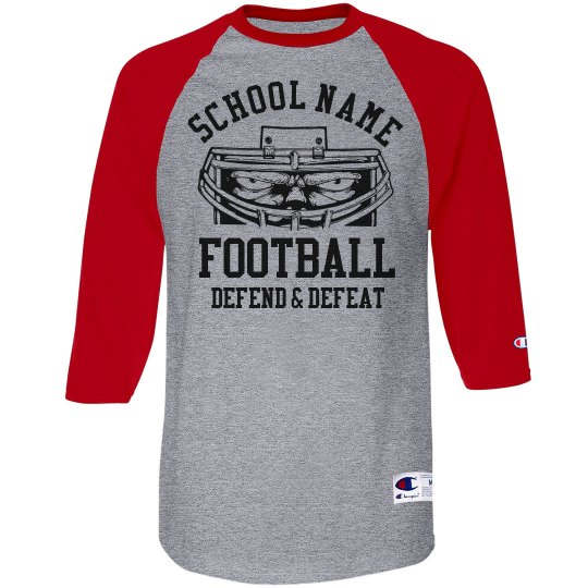 Proud Football Dad Shirt With Custom Front and Back