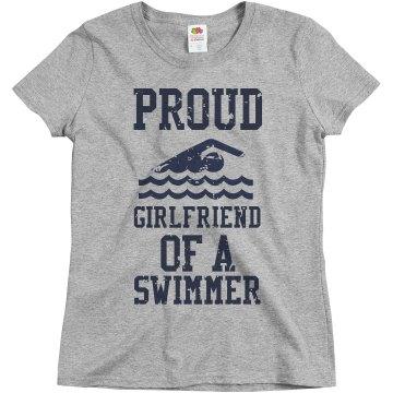 Proud girlfriend of a swimmer