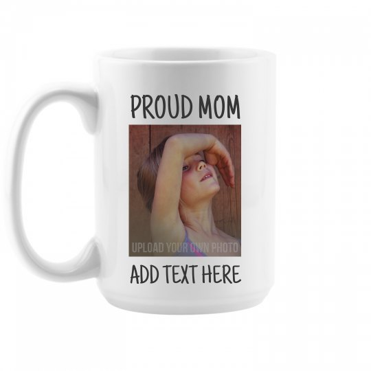 Proud Mom Dancer Photo Gift