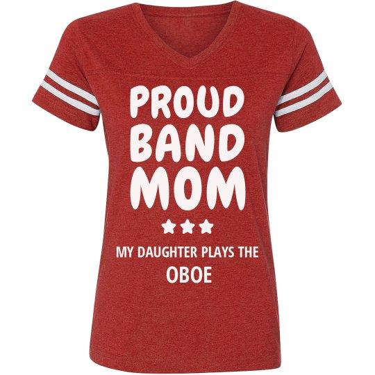 Proud Oboe Band Mom