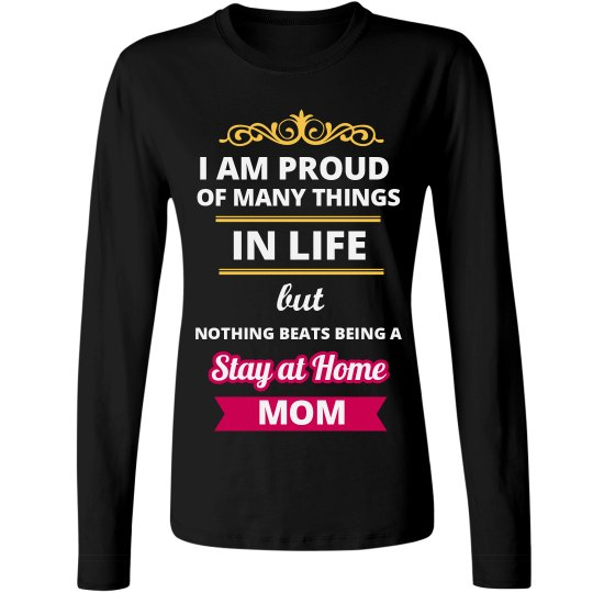 Proud of Being Stay at Home Mom